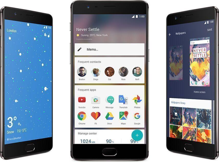 Смартфон OnePlus 3T 64GB: от недостатъци до предимства