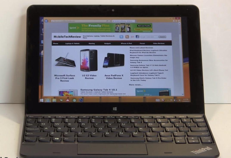 Преглед на Lenovo ThinkPad Tablet 10