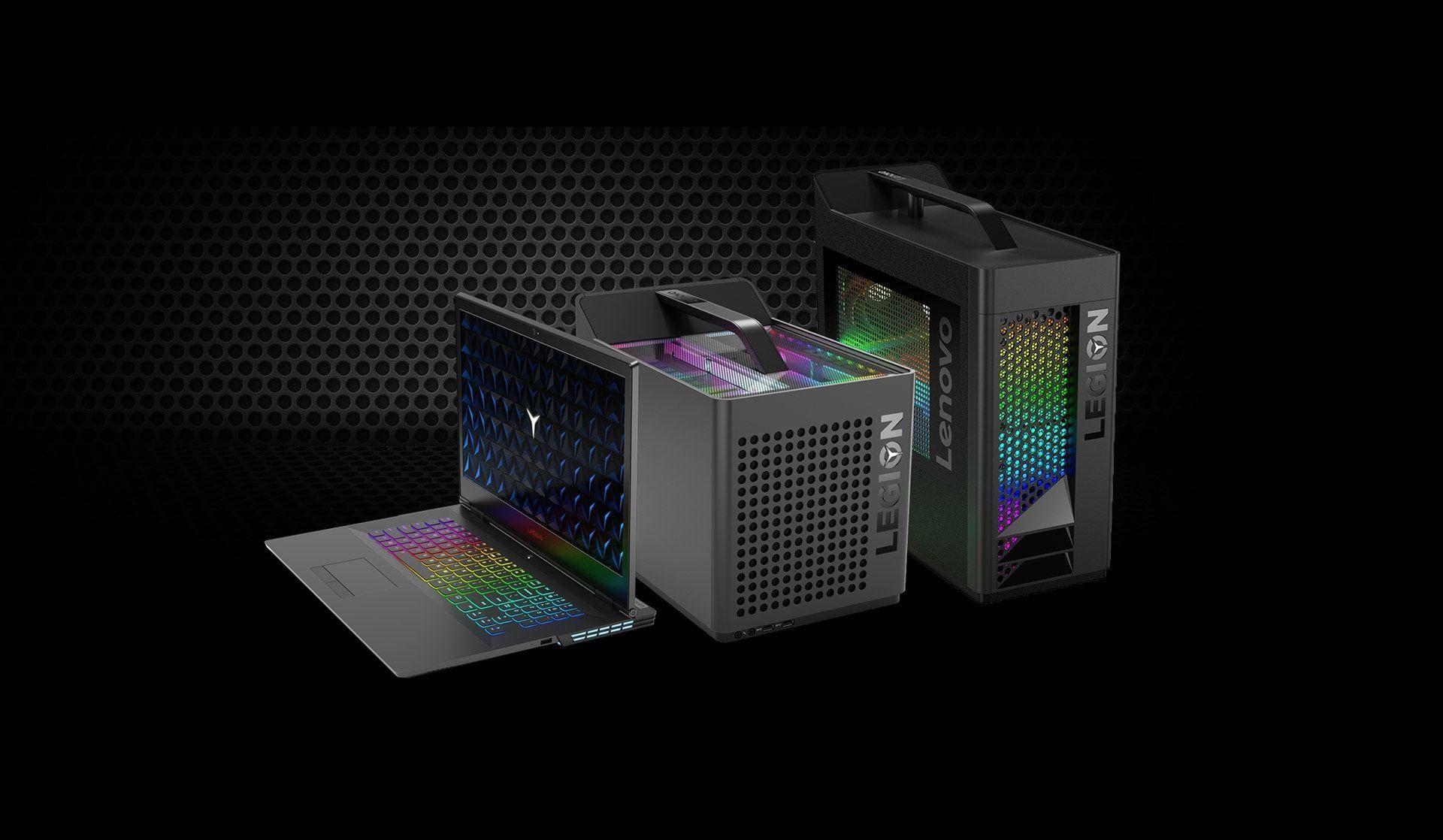 Преглед на Lenovo Legion C730 Cube - компютър за геймъри