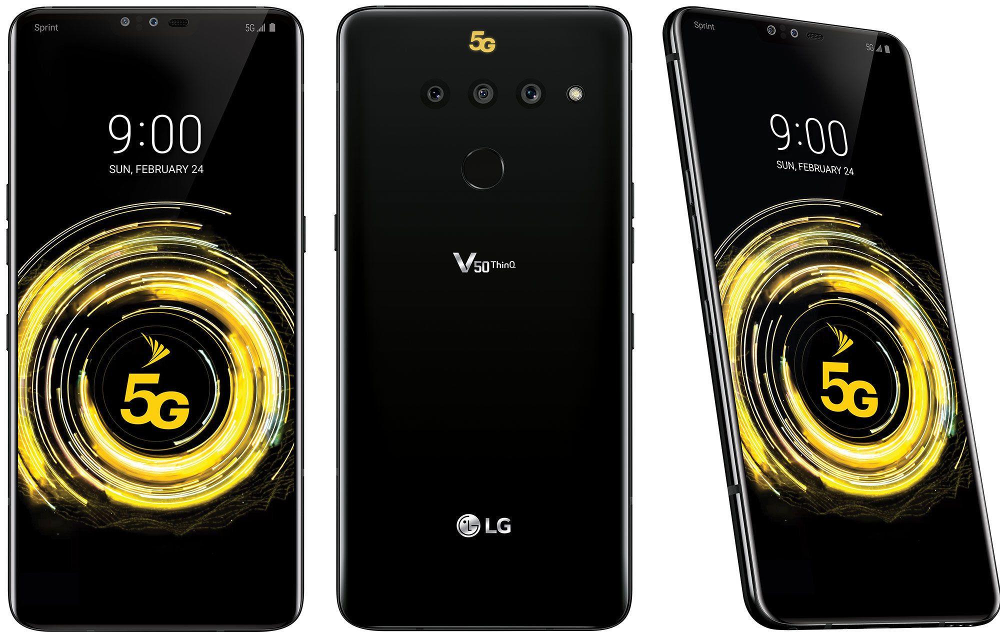 Смартфон LG V50 ThinQ 5G - плюсове и минуси