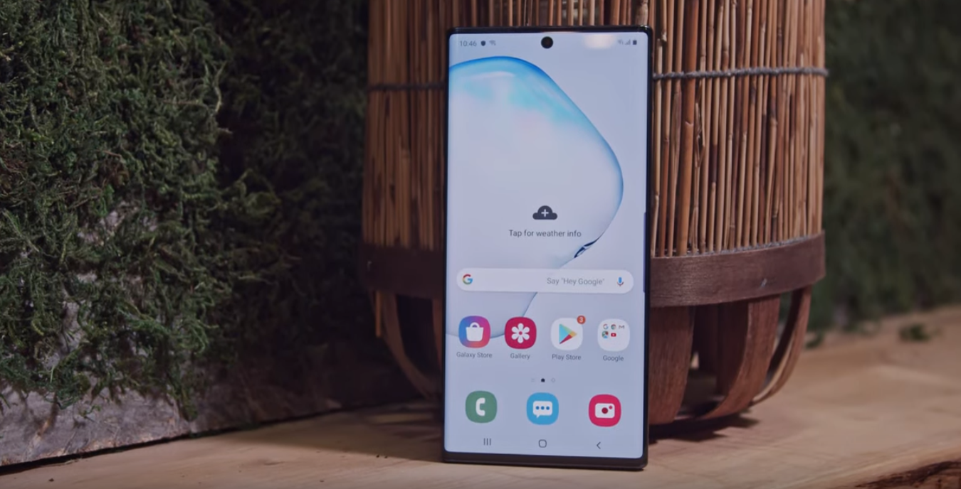Samsung Galaxy Note 10+: плюсове и минуси