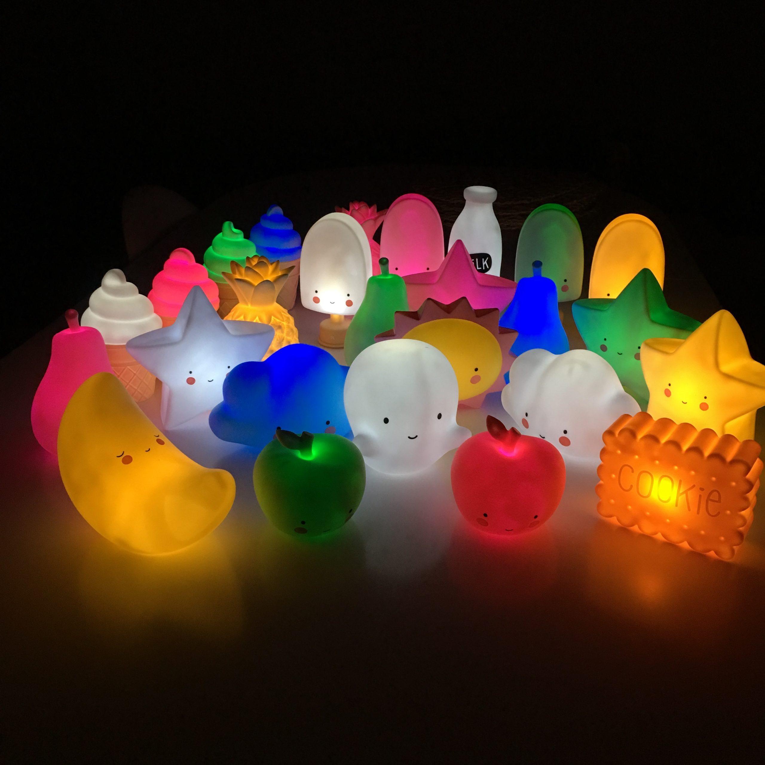 Рейтинг на най-добрите детски нощни лампи за 2020 година