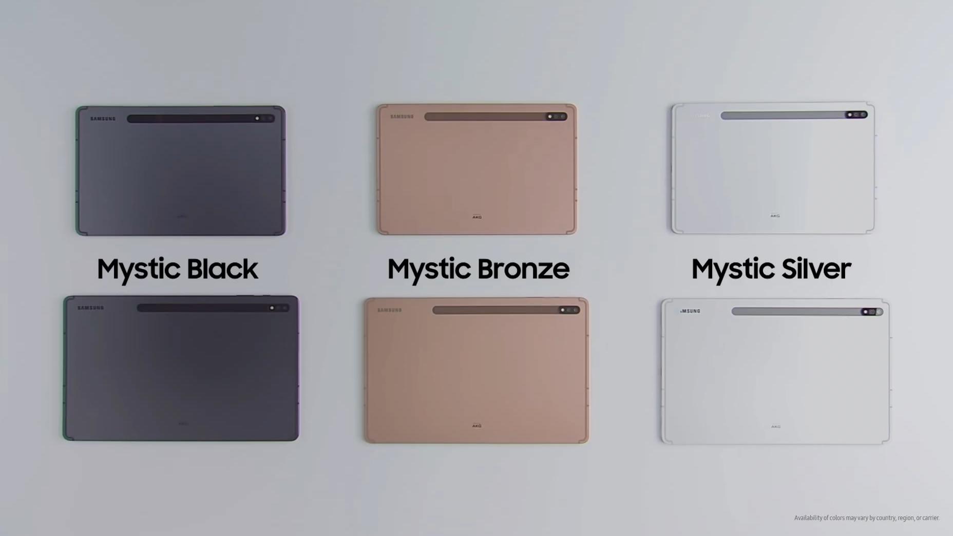 Преглед на таблетите Samsung Galaxy Tab S7 и S7 +