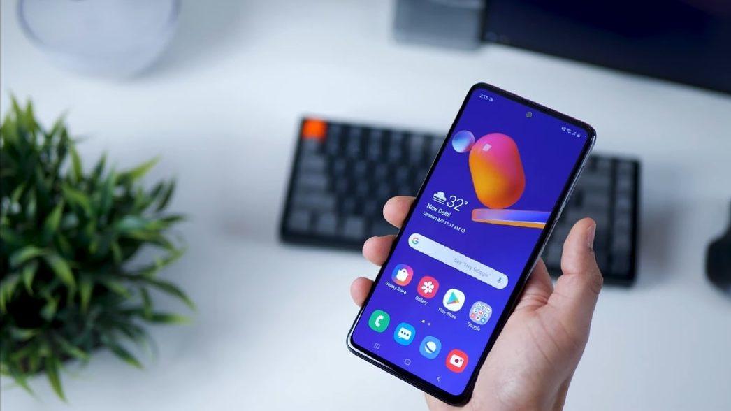 Преглед на смартфон на Samsung Galaxy M31s с ключови функции